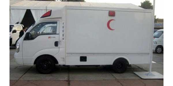 ... plus de détails de la marque kia et du modèle kia k2700 ambulance