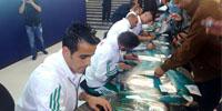 Album Photos Peugeot Algérie : bain de foule pour les joueurs de l'EN de football