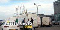 Album Photos SOVAC : des clients du Volkswagen Crafter ANSEJ en colère manifestent